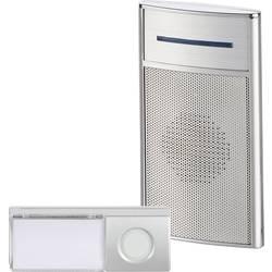 Bezdôtový zvonček Heidemann HX Speaker 70845, kompletná sada, Max. dosah 200 m, strieborná
