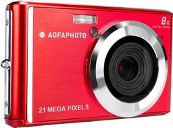 Image of AgfaPhoto DC5200 Digitalkamera 21 Mio. Pixel Rot, Silber