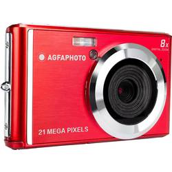 Image of AgfaPhoto DC5200 Digitalkamera 21 Megapixel Rot, Silber