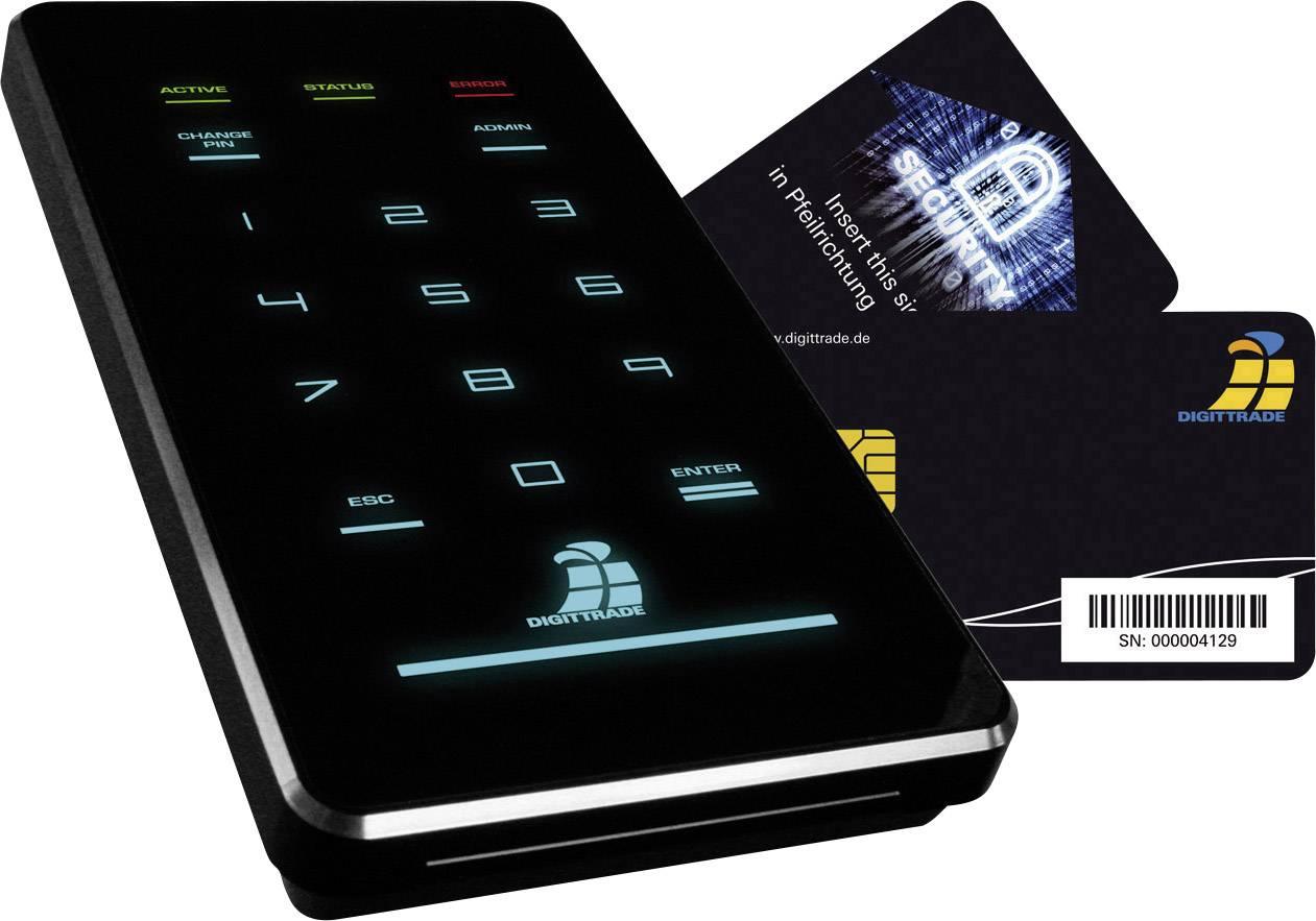 Digittrade DG HS256S3 1TB HS256 S3 Externe Festplatte 6.35 cm (2.5 Zoll) 1 TB Schwarz USB 3.0