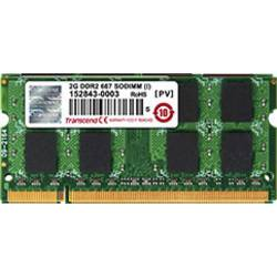 Image of Transcend TS128MSQ64V6U Laptop-Arbeitsspeicher Modul 1 GB 1 x 1 GB DDR2-RAM 667 MHz CL5 5-5-5