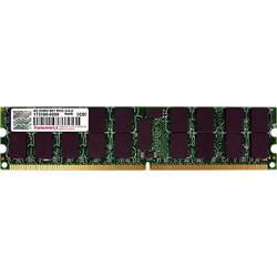 Image of Transcend TS512MQR72V6T PC-Arbeitsspeicher Modul 4 GB 1 x 4 GB DDR2-RAM ECC 667 MHz CL5