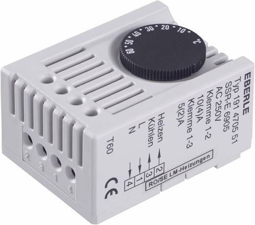 Schaltschrankheizungs-Thermostat SSR-E 6905 Eberle 230 V/AC 1 Wechsler (L x B x H) 46 x 34.5 x 67 mm