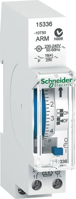 Časovač na DIN lištu Schneider Electric 15336, 230 V