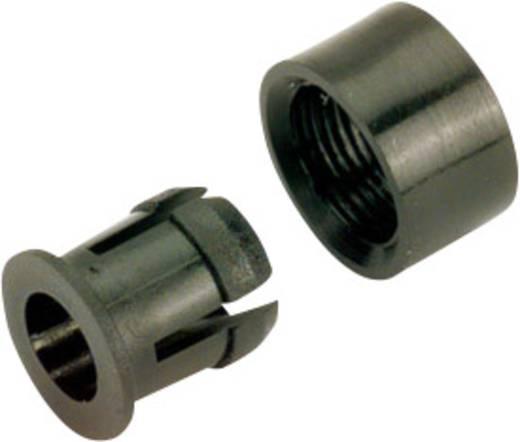 LED-Fassung Kunststoff Passend für LED 5 mm SnapIn RING + HUELSE F.5MM