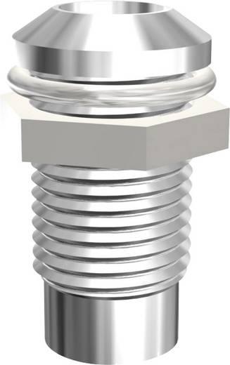 LED-Fassung Metall Passend für LED 5 mm Schraubbefestigung Signal Construct SMQ1089