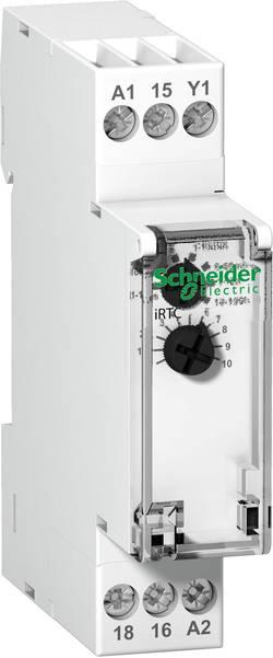 Časovač na DIN lištu Schneider Electric A9E16067, 240 V