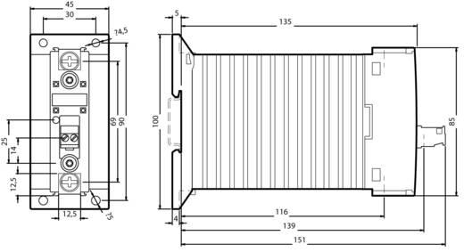 Siemens 3RF2340-1BA02 Halbleiterschütz Sofortschaltend 1 St. 1 Schließer 40 A
