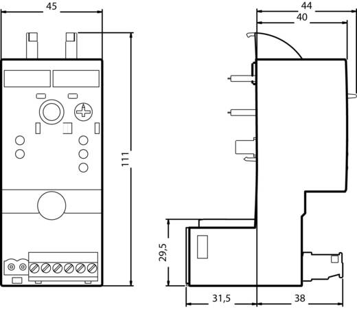 Leistungsregler 1 St. Siemens 3RF2950-0HA16 Schaltspannung (max.): 600 V/AC (B x H x T) 45 x 111.5 x 69.5 mm
