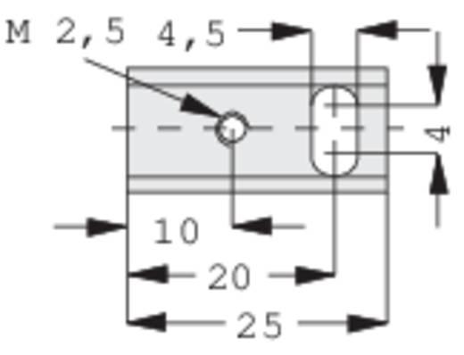 Kühlkörper 30 K/W (L x B x H) 25 x 12 x 15 mm SOT-32 Fischer Elektronik SK 12 25 SA-32