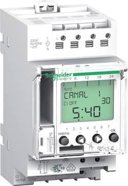 Časovač na DIN lištu Schneider Electric CCT15721, 230 V