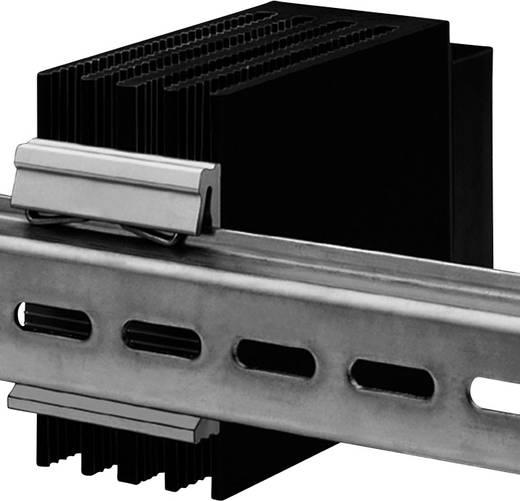 Klammerbefestigung für DIN-Hutschiene Fischer Elektronik (L x B x H) 75 x 8.5 x 50 mm