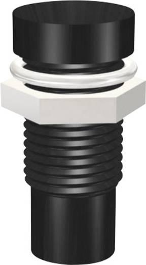 Signal Construct SMU1069 LED-Fassung Metall Passend für LED 3 mm Schraubbefestigung