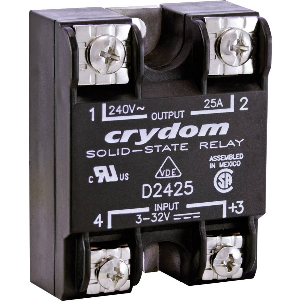 Crydom D2410 Solid State Electronic Load Relay Panel Mount From - Solid State Relay Brands