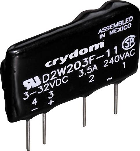Crydom Halbleiterrelais 1 St. D2W202F Last-Strom (max.): 2 A Schaltspannung (max.): 280 V/AC Nullspannungsschaltend