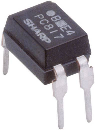 Optokoppler Phototransistor Sharp PC817X2NSZ0F DIP-4 Transistor DC