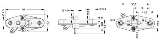 Transistorhalterung 1 St. TF 3/2 Fischer Elektronik Passend für Gehäuse (Halbleiter): TO-3 Rastermaß: 10.9 mm (L x B x H) 39.8 x 17.5 x 16.1 mm