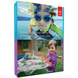Image of Adobe Photoshop Elements 2019 & Premiere Vollversion, 1 Lizenz Windows, Mac Bildbearbeitung, Videobearbeitung