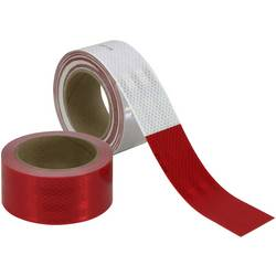 Reflexná fólia 3M Diamond Grade™ 983-326 (d x š) 45.7 m x 50.8 mm, červená, biela, 45.7 m