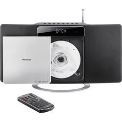 Stereo systém Karcher MC 6580D, CD, UKW, DAB+, USB, AUX, Bluetooth, čierna, strieborná