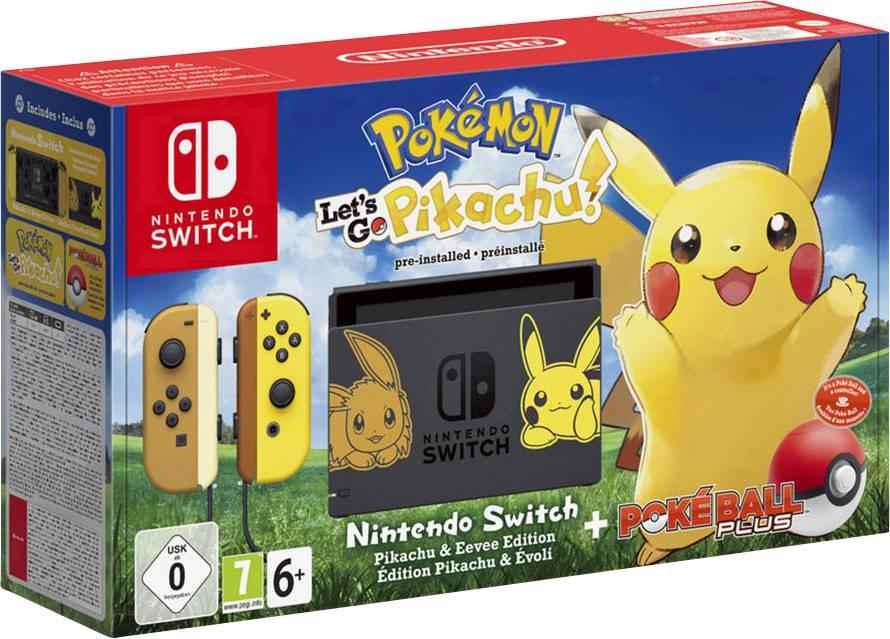 cheaper 68c5a e2458 Nintendo Switch Konsole Let  s Go, Pikachu! (Bundle) Grau