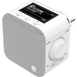DAB+ rádio do zásuvky Hama DR40BT-PlugIn, AUX, Bluetooth, biela