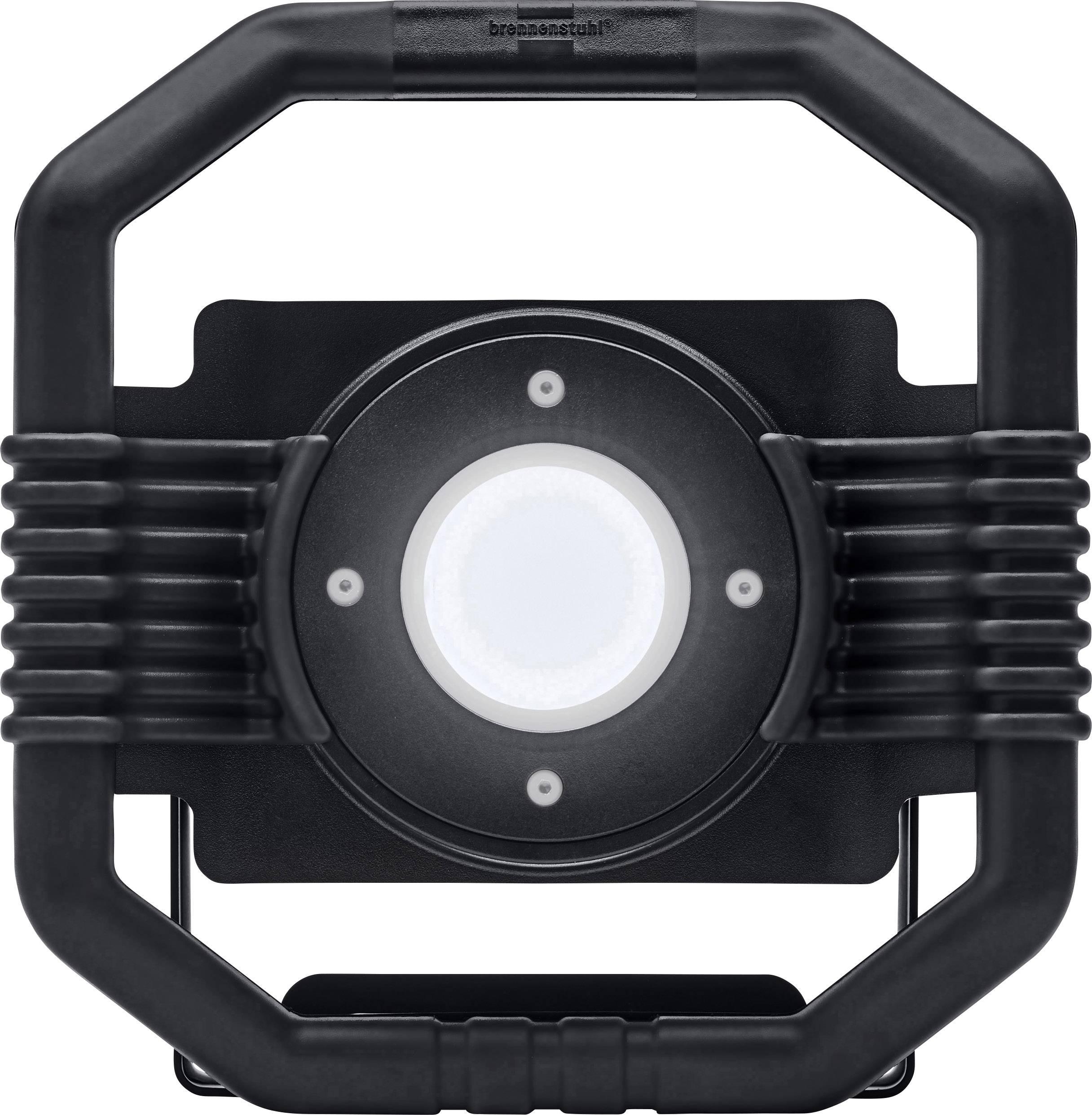 LED Baustrahler IP 44 Arbeitsleuchte tragbarer Strahler mit Stativ 30 Watt 3000 Lumen