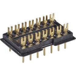 Image of Fischer Elektronik DIL-Stecker 1 St. DILS 14 GO Polzahl: 14 Rastermaß: 2.5 mm (L x B x H) 20 x 12.5 x 7.6 mm