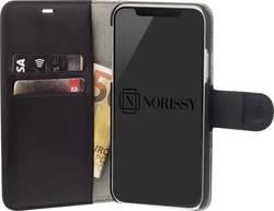 Obal pro iPhone Norissy LederBook One vhodné pro: Apple iPhone 5, Apple iPhone 5S, Apple iPhone SE, černá