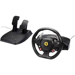 Volant Thrustmaster Ferrari 458 Italia USB 2.0 PC, Xbox 360 černá vč. pedálů