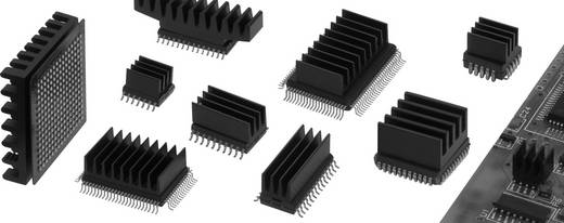 Fischer Elektronik ICK SMD A 5 SA SMD-Kühlkörper 123 K/W (L x B x H) 5 x 6.3 x 4.8 mm
