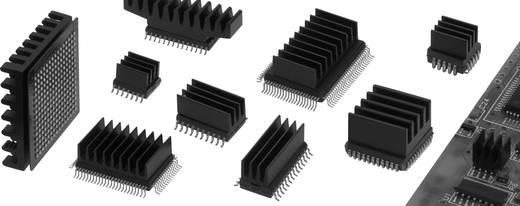 Fischer Elektronik ICK SMD B 19 SA SMD-Kühlkörper 22 K/W (L x B x H) 19 x 19 x 4.8 mm