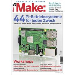 Image of Maker Media GmbH ct Make: Magazin 5/2018