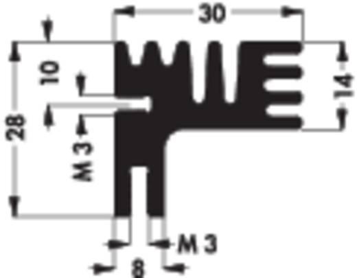 Kühlkörper 6 K/W (L x B x H) 84 x 30 x 28 mm Fischer Elektronik SK 125 84 SA
