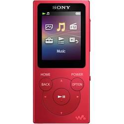 MP4 prehrávač Sony NW-E393, 4 GB, červená