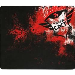 Herná podložka pod myš Trust GXT754-P, 320 x 270 x 3 , čierna, červená