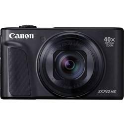 Digitálny fotoaparát Canon PowerShot SX740 HS, 20.3 Megapixel, Zoom (optický): 40 x, čierna