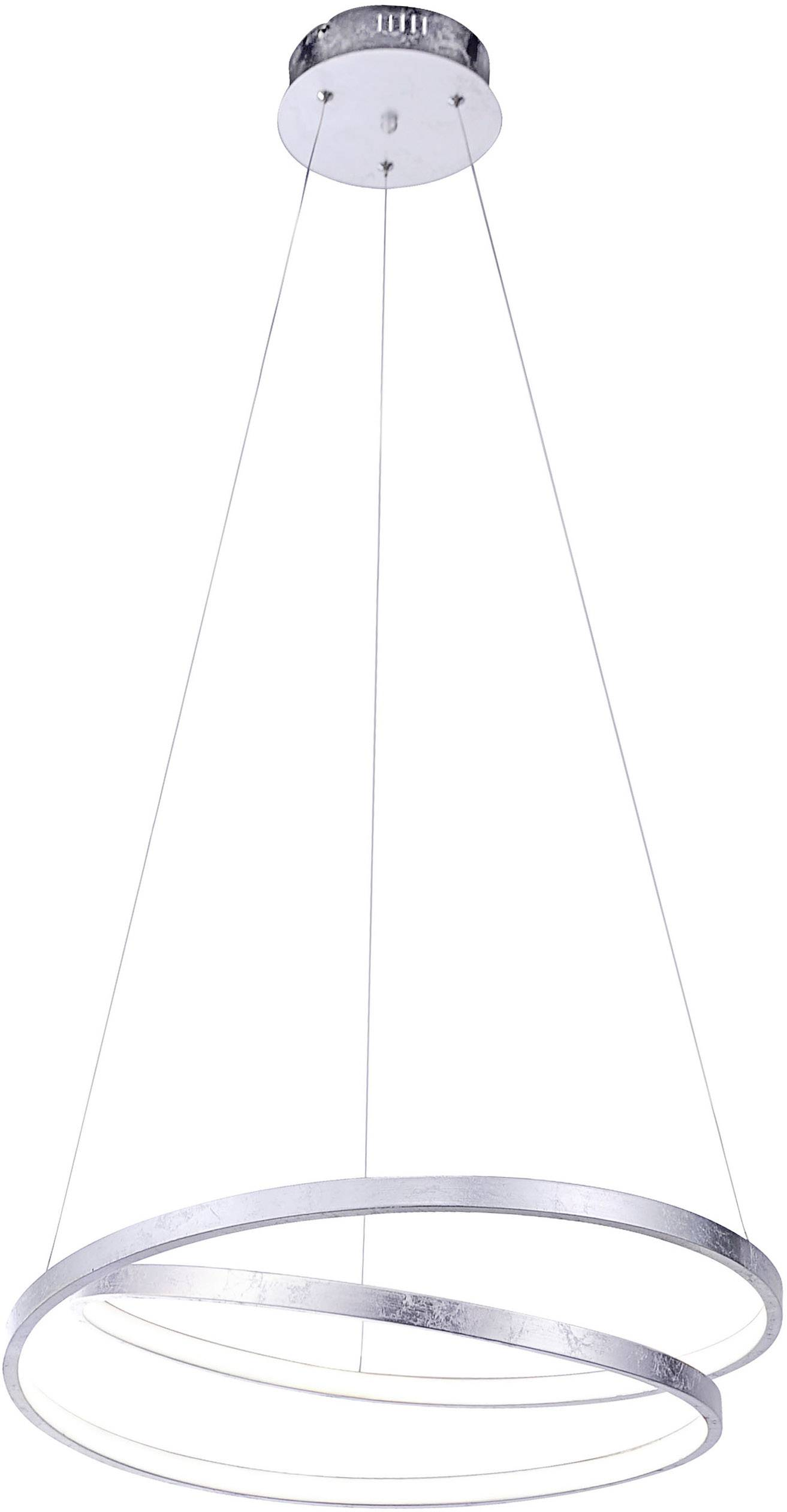 Paul Neuhaus ROMAN 2472 21 LED Pendelleuchte 30 W Warmweiß Silber