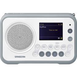 DAB+ přenosné rádio Sangean DPR-76, FM, bílá, kamenná