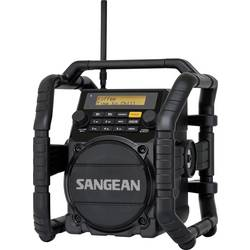 DAB+ outdoorové rádio Sangean U-5 DBT, AUX, Bluetooth, FM, černá