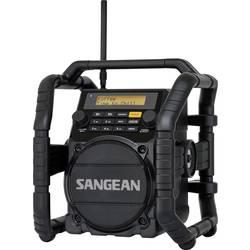 DAB+ outdoorové rádio Sangean U-5 DBT, AUX, Bluetooth, UKW, čierna