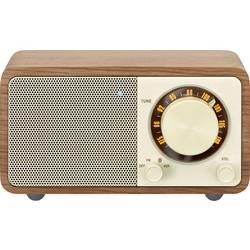 FM stolné rádio Sangean WR-7 Genuine Mini, Bluetooth, vlašský orech