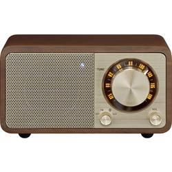 FM stolní rádio Sangean WR-7 Genuine Mini, Bluetooth, třešňová