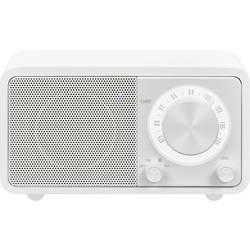 FM stolné rádio Sangean WR-7 Genuine Mini, Bluetooth, biela