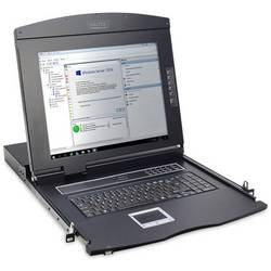 KVM konsole Digitus DS-72210-2US, VGA