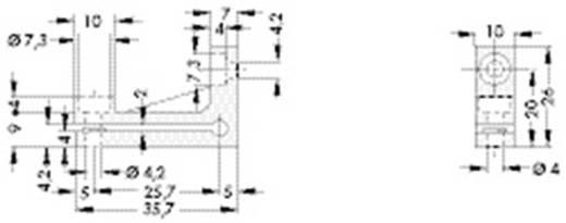 Kühlkörperhalter Polypropylen Fischer Elektronik IS 1 aus BKV N1 schwarz 1 St.