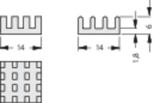 Kühlkörper 22 K/W (L x B x H) 23 x 23 x 6 mm Fischer Elektronik ICK BGA 23 X 23