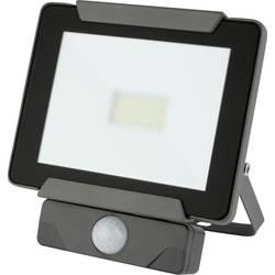 LED vonkajšie osvetlenie s PIR senzorom Emos Ideo 850EMIDS20WZS2721, 20 W, sivá