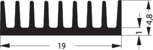 Fischer Elektronik ICK 14/16 B Kühlkörper 50 K/W (L x B x H) 6.3 x 19 x 4.8 mm DIL-14, DIL-16