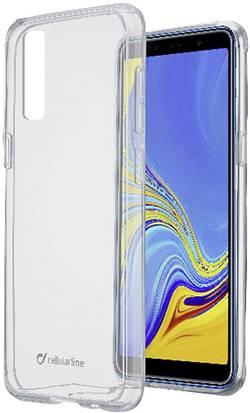 Zadní kryt na mobil Cellularline CLEARDUOGALA72018T, vhodné pro: Samsung Galaxy A7, transparentní